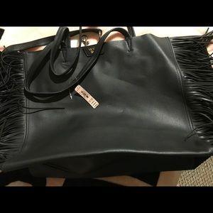 Victoria's Secret black purse/ tote brand new